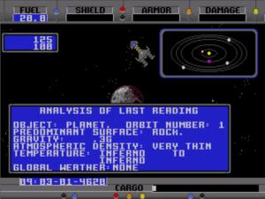 Starflight analysis