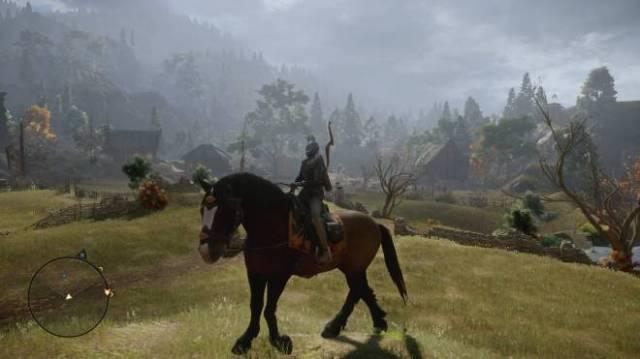 Dragon Age horse